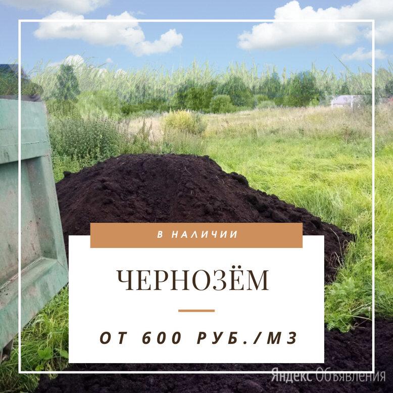 Чернозём по цене 600₽ - Субстраты, грунты, мульча, фото 0
