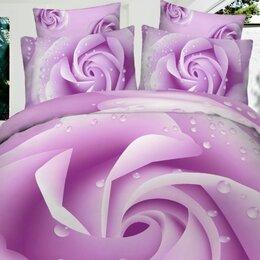 Постельное белье - Комплекты постельного белья из сатина с 3D  эффектом , 0