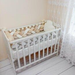 Покрывала, подушки, одеяла - Бортики в детскую кроватку новые, 0