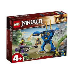 Конструкторы - LEGO Ninjago 71740 Электрический робот Джея, 0