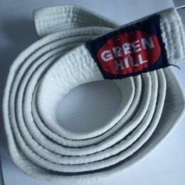 Аксессуары и принадлежности - Белый пояс для кимоно green hill 2 метра, 0