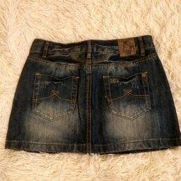 Юбки - Подростковая джинсовая юбка, 0