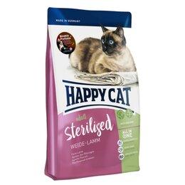 Корма  - Сухой корм Happy Cat Sterilised Weide-Lamm 4 кг, 0