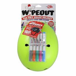 Спортивная защита - Шлем защитный с фломастерами Wipeout Neon Zest…, 0