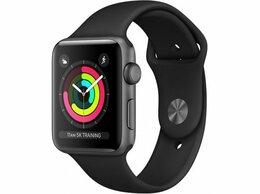 Умные часы и браслеты - Apple Watch Series 3, 38 мм (корпус из алюминия…, 0