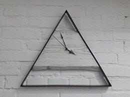 Часы настенные - Часы ЛОФТ треугольник, 0