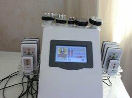 Оборудование для аппаратной косметологии и массажа - Аппарат 7 в 1 Липолиз, Кавитация, РФ, Вакуум, 0