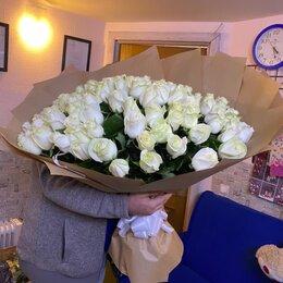 Цветы, букеты, композиции - 101 роза, 0