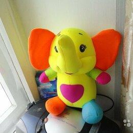 Мягкие игрушки - Слоник, милая мягкая игрушка большая новая, 0