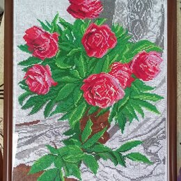 Картины, постеры, гобелены, панно - Продаю картину розы, 0