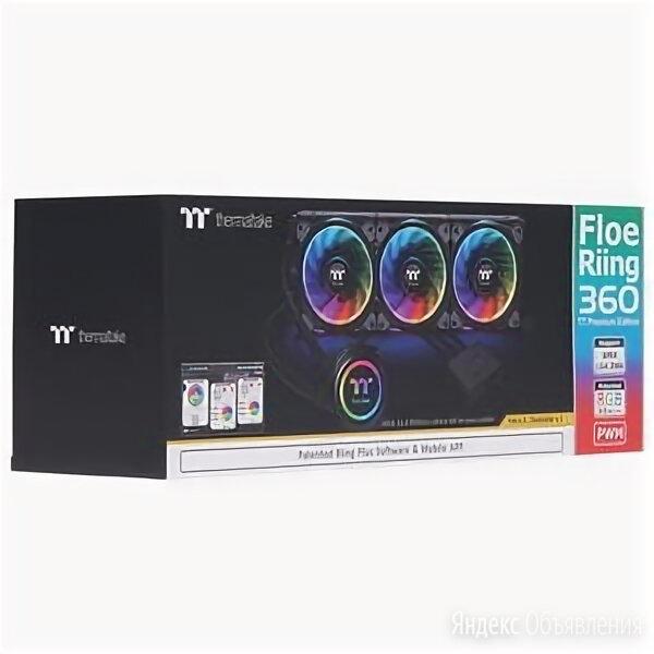 СВО Thermaltake Floe Riing RGB 360 TT Premium Edition по цене 15000₽ - Кулеры и системы охлаждения, фото 0