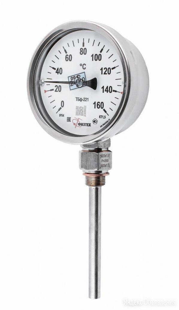 Термометр биметаллический ТБф-221 0...100C° РШ*6 (кт.1,5 / d.160 / G1/2 / IP54)  по цене 5520₽ - Дизайн, изготовление и реставрация товаров, фото 0