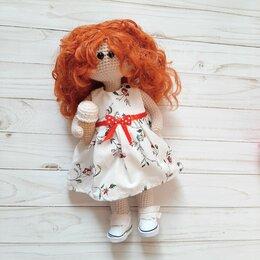 Куклы и пупсы - Вязаная кукла тильда, 0