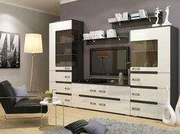 Шкафы, стенки, гарнитуры - Стенка Виго венге/белый глянец, 0
