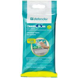 Чистящие принадлежности - DEFENDER Салфетки чистящие влажные д/мониторов DEFENDER мягкая уп., 20шт, 0