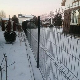 Заборы, ворота и элементы - Забор 3D/ограждение из 3D сетки, 0