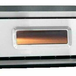 Жарочные и пекарские шкафы - Печь электрическая для пиццы абат пэп-4, 0
