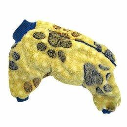 Одежда и обувь - теплый комбинезон толстовка для собаки, 0
