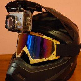 Мотоэкипировка - Шлем кроссовый , 0