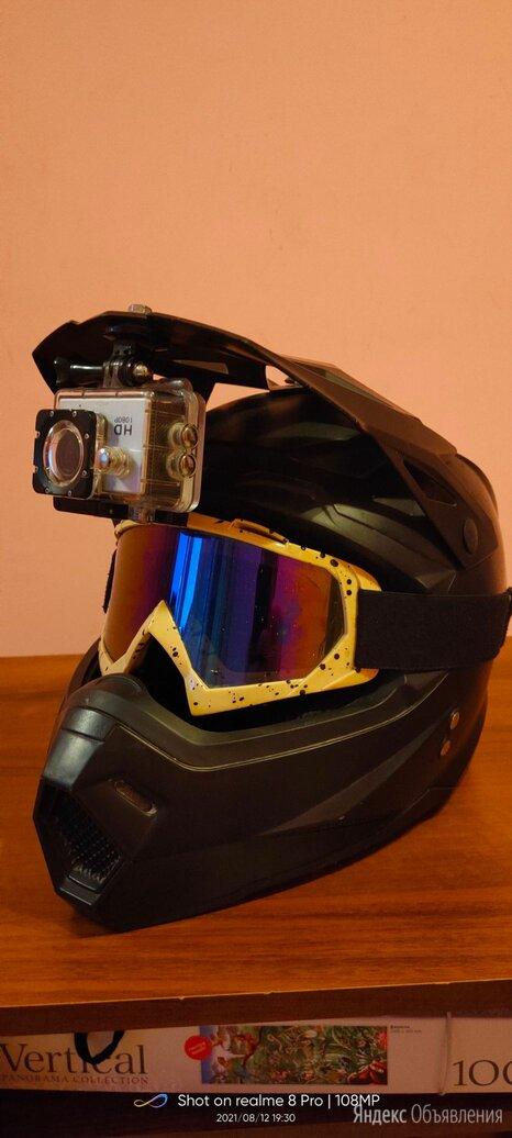 Шлем кроссовый  по цене 5000₽ - Мотоэкипировка, фото 0