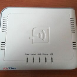 3G,4G, LTE и ADSL модемы - Adsl2 + Combo router (AirTies RT-104), 0