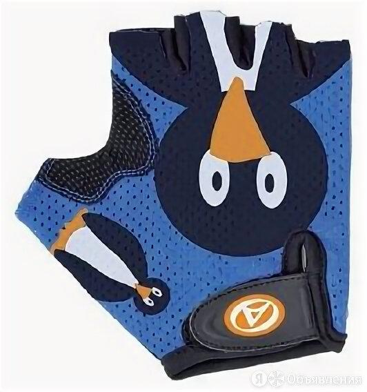 Велоперчатки подростковые AUTHOR Junior Ping, сине-черные (Размер: S) по цене 777₽ - Прочие аксессуары и запчасти, фото 0