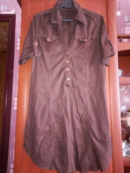 Платья - Рубашка-туника-платье, 0