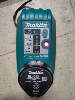 Аксессуары и запчасти - Зарядка и акамулятор для пылесоса makita cl100d, 0