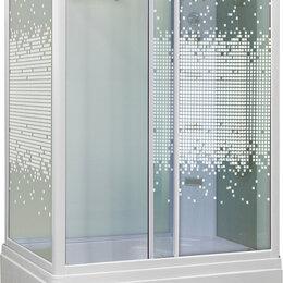 Комплектующие - Душевая кабина Niagara NG-307-01R 120х80 см с мозаичными стеклами, 0