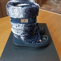 Сноубутсы, дутики - Зимние мембранные сапоги Jog Dog размер 32, стелька -20,7 см Италия, 0