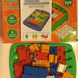 Развивающие игрушки - Неплохая логическая игра-конструктор Логический лабиринт, 0