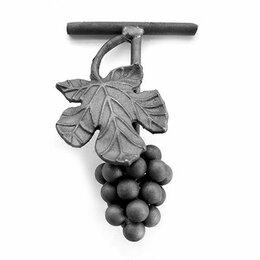 Садовые фигуры и цветочницы - Виноград с листом (155x110 мм), 0
