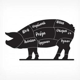 Расходные материалы - Меловая табличка «Хрюшка» с печатью BB PIG PRINT, 0