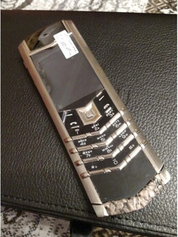 Мобильные телефоны - Телефон Vertu signature S design новые, 0