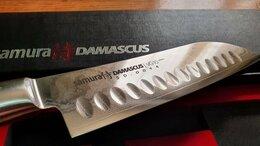 Ножи кухонные - Нож Сантоку Samura Damascus SD-0094/G-10, 0