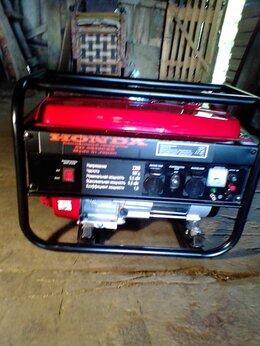 Электрогенераторы - Бензиновый генератор HONDA EG 5500 CXS, 0