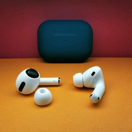 Наушники и Bluetooth-гарнитуры - Airpods Pro с шумоподавлением, чип Airoha 1562a, 2021 год, 0