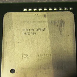 Процессоры (CPU) - Процессор #4 intel xeon, 0