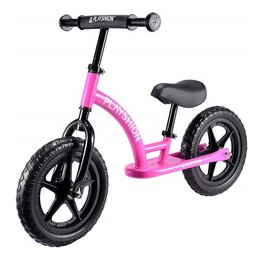 "Беговелы -  Беговел Playshion - Street Bike 12"" EVA Розовый, 0"