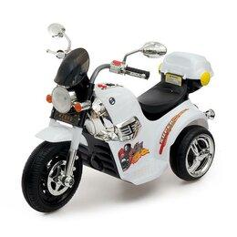 Электромобили - Электромобиль «Чоппер», с аккумулятором, световые и звуковые эффекты, цвет белый, 0
