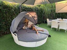 Диваны - Садовый диван из ротанга, шезлонг кровать,…, 0