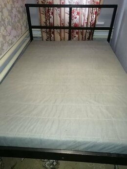 Кровати - Кровать двухспалка с матрасом , 0