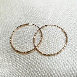 Серьги - Золотые серьги , 0