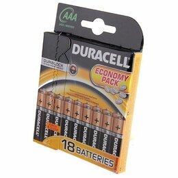 Батарейки - Батарейки Duracell LR03-18BL BASIC 18шт ААА, 0