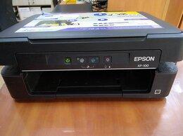 Принтеры и МФУ - б/у МФУ Epson XP-100 с подключенной СНПЧ, 0