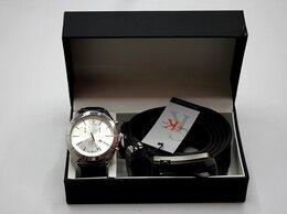 Подарочные наборы - Мужской набор часы и ремень Calvin Klein, 0