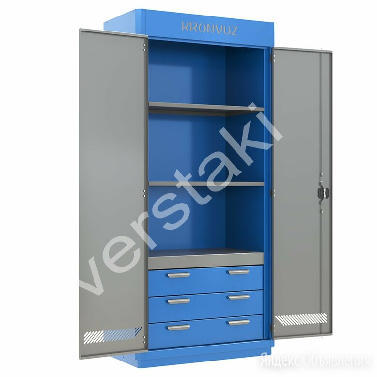 Шкаф для хранения инструмента KronVuz Box 1330 по цене 53880₽ - Шкафы для инструментов, фото 0