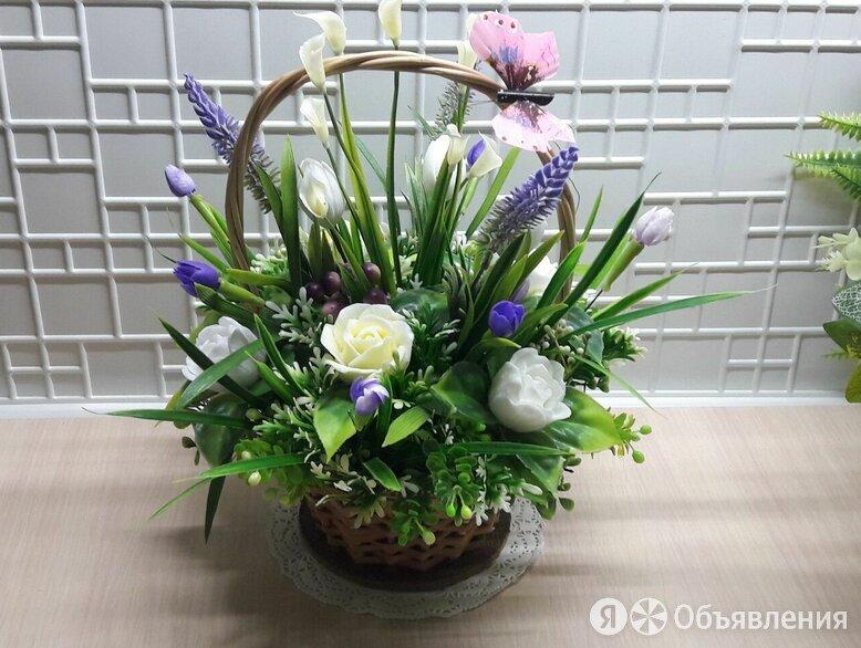 Интерьерная композиция 17 по цене 1000₽ - Искусственные растения, фото 0