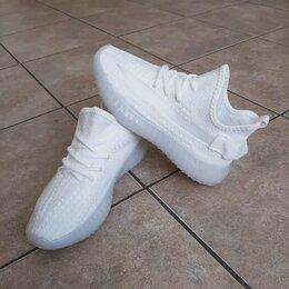 Кроссовки и кеды - Кроссовки Adidas Yeezy Boost 350 белые А1006, 0