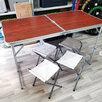 Стол складной туристический + 4 стула по цене 2990₽ - Походная мебель, фото 0